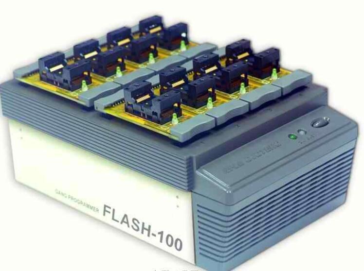 河洛FLASH-100量产型IC烧录器 编程器